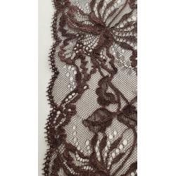 Frange beige écru en polyester 5cm