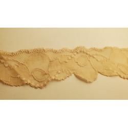 ruban frange viscose noir, 2,5 cm,parfait pour customiser un vêtement, robe ,tee shirt, ou un objet, chapeau, sac