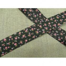 ruban satin deux faces- violet-10m