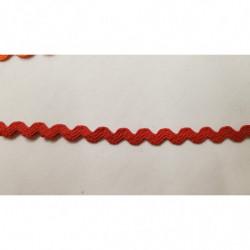 ruban pompon rose,et parme,4 cm, convient pour customiser un vêtement ,robe, tee shirt, ou un objet ,chapeau, sac