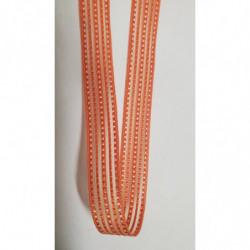 ruban gros grain avec velours central, photo de présentation