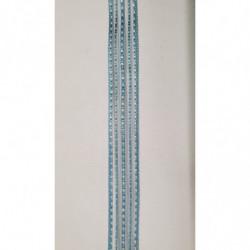 ruban gros grain rouge avec bande velours centrale, 2 cm, sublime  pour tous vos loisirs créatifs : couture,