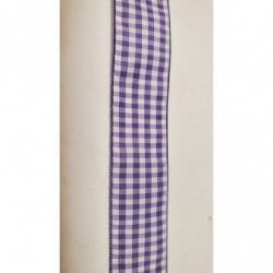 ruban gros grain vert  avec bande velours centrale, 2 cm, idéal   pour tous vos loisirs créatifs : couture,