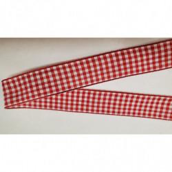 ruban gros grain  blanc avec bande velours centrale, 2 cm, parfait pour tous vos loisirs créatifs : couture,