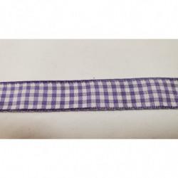 ruban avec deux bandes velours blanc cassé 2,5 cm  parfait  pour toutes vos créations de couture, customisations, vêtements,