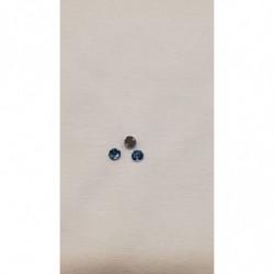 ruban tissé vert  et or, 25 mm, idéal pour toutes créations et réalisations