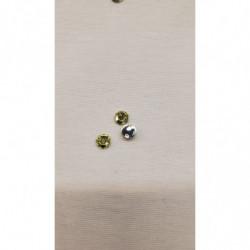 ruban tissé orange et or, 25 mm, convient pour toutes créations et réalisations