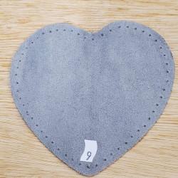ruban fleurs brodées-1cm- bleu