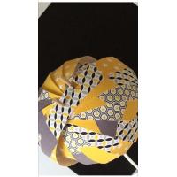 decoration d'une lampe- avec nos tissu coton imprimé
