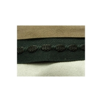 ruban gros grain noir,2.5 cm,sangle entrelacée de fils coton couleur noir