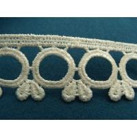 guipure coton ecru,3.5 cm