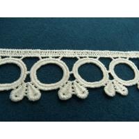 guipure coton blanc,3.5 cm
