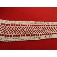 guipure coton ivoire,3.3 cm
