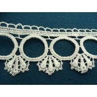guipure coton blanche 6.5 cm