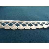 guipure coton blanche,1.5 cm