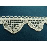 guipure coton ecru,4 cm