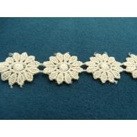 guipure coton écru,2.5 cm