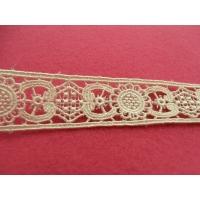 guipure coton ecru,2.2 cm