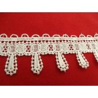 guipure coton blanche 4.5 cm