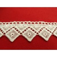 guipure coton écru,3.5 cm
