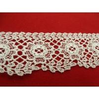 guipure coton blanche,5 cm