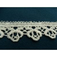 guipure coton blanche,3 cm