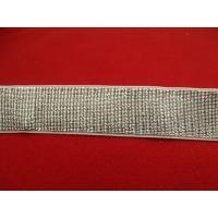 ruban élastique argent,3 cm