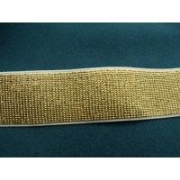 ruban élastique doré,3 cm