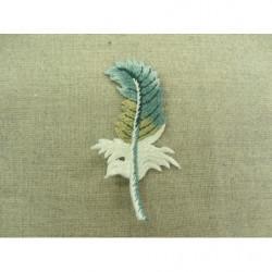 Ruban elastique face velours- 2cm- blanc