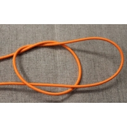 elastique rond- 3mm- orange