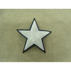 collier perle acrylique-70cm- blanc écru