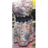 customisation d'une jolie robe d'été avec notre guipure
