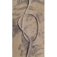 élastique élasthanne blanc, 3 mm,vendu par 3 metres