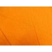tissu coton uni orange  150 cm  100%coton