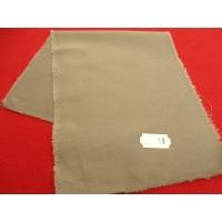 tissu coton uni beige soutenu,150 cm