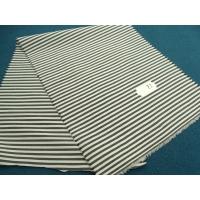 tissu coton à raillure bleu et blanc de belle qualité,150 cm