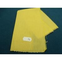 tissu coton uni jaune moutarde   belle qualité,150 cm