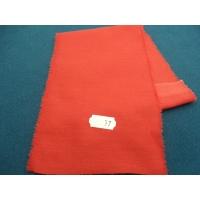 tissu coton uni rouge belle qualité,150 cm