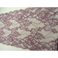 dentelle de calais leavers  violet ,22 cm