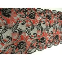 dentelle de calais noir tango red ,20 cm