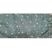 tissu coton imprimé NOEL vert étincelant,150 cm,idéal pour toutes vos réalisations et créations