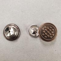 BOUTON JEAN CUIVRE,14  mm, vendu par LOT de 2 pièces