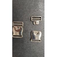NOUVELLE boucle métal argent