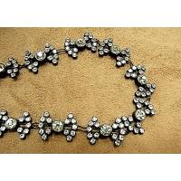 ruban strass,1.5 cm, motif nœud papillon,de belle qualité