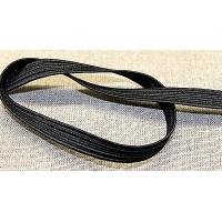 élastique noir - 7 milimètre