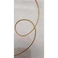 élastique doré 2 mm