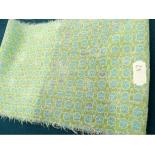 tissus coton imprimé- 150 cm- pastel vert