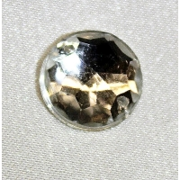 strass rond- 15mm- argent