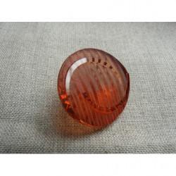 Perle acrylique rond - 4mm- doré