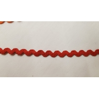 NOUVEAU ruban serpentine rouge 6 mm
